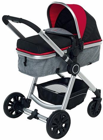 Коляска 3-в-1 Foppapedretti Bikini Travel System (red)