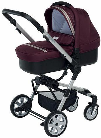 Коляска 3-в-1 Foppapedretti Super Tres Travel System (bordeaux)