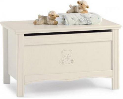 Ящик для игрушек Erbesi Jolie (слоновая кость) ящик для игрушек с крышкой erbesi incanto мдф слоновая кость