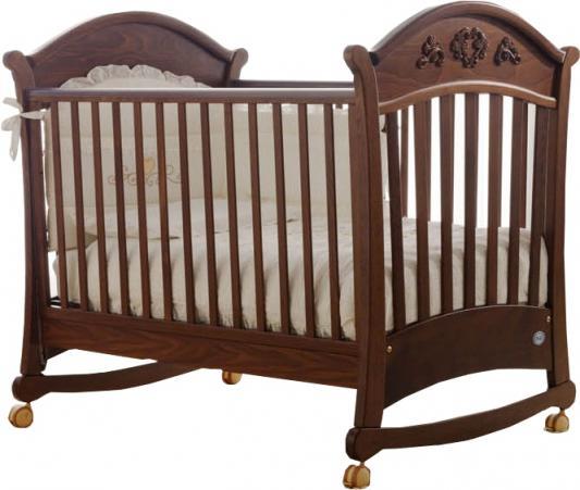 Кроватка-качалка Pali Rose (орех)