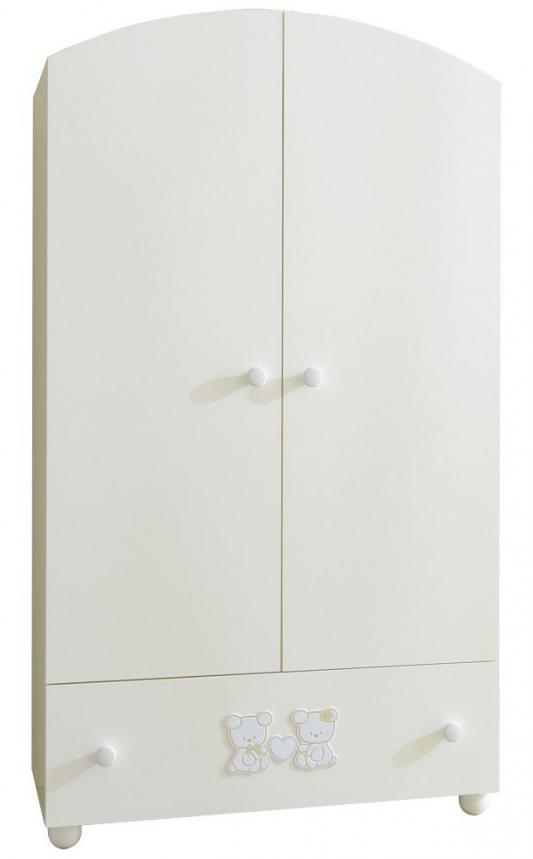 Шкаф двухстворчатый Pali Smart Maison Bebe (белый)