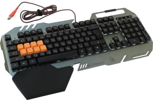 Клавиатура A4TECH Bloody B418 USB черный