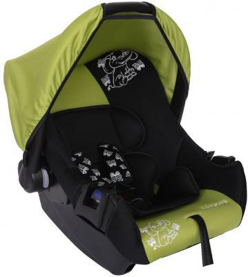 Автокресло Baby Care BC-322 Люкс Слоник (зеленый)
