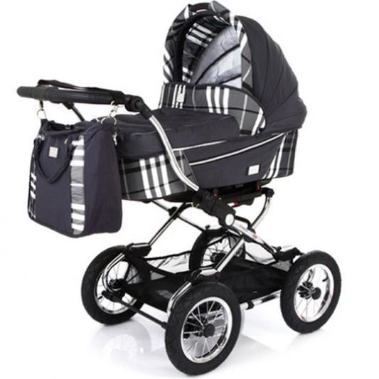 Коляска для новорожденного Baby Care Sonata (dark/grey)