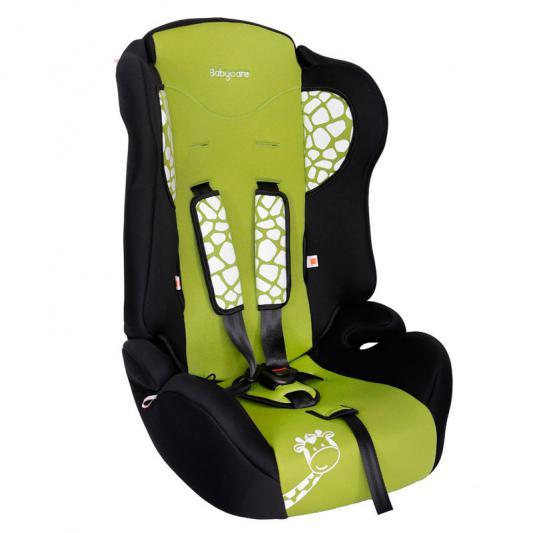 Автокресло Baby Care BC-513 Люкс Жирафик (зеленый)