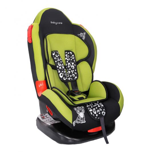 Автокресло Baby Care BC-02 Люкс Леопардик (зеленый)