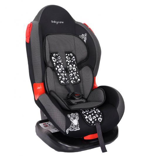Автокресло Baby Care BC-02 Люкс Леопардик (карбон/серый)