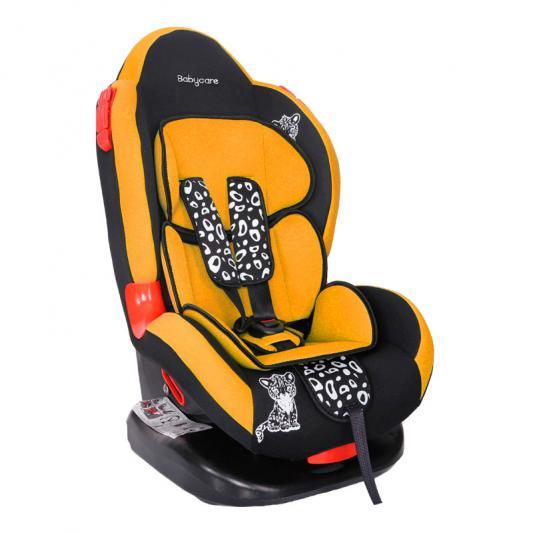 Автокресло Baby Care BC-02 Люкс Леопардик (оранжевый)