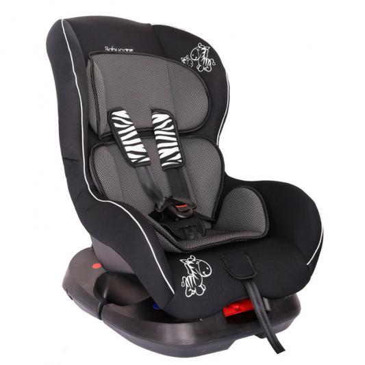 Автокресло Baby Care BC-303 Люкс Зебрик (карбон/серый)