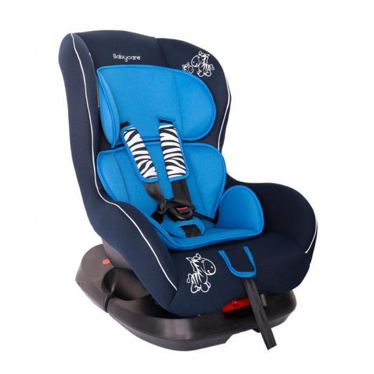 Автокресло Baby Care BC-303 Люкс Зебрик (синий)