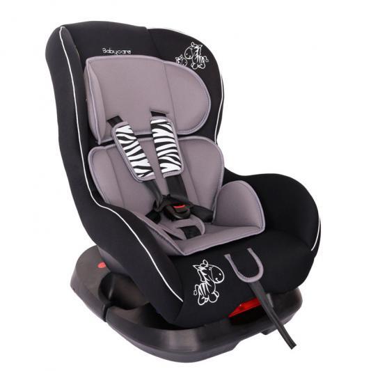 Автокресло Baby Care BC-303 Люкс Зебрик (серый)
