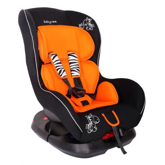 Автокресло Baby Care BC-303 Люкс Зебрик (оранжевый)