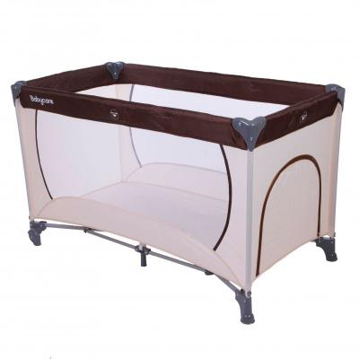 Манеж Baby Care Arena (бежевый/коричневый)