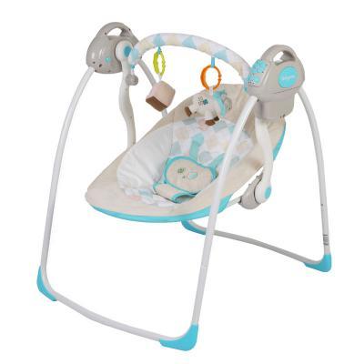 Электронные качели Baby Care Riva (синий)
