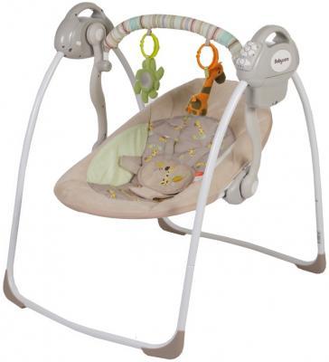 Электронные качели Baby Care Riva (кофейный) электрокачели baby care riva с адаптером кофейный