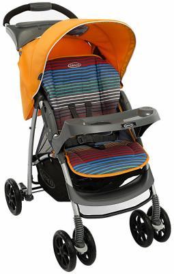 Прогулочная коляска Graco Mirage (jaffa stripe) коляска graco graco прогулочная коляска mirage w parent tray and boot jaffa stripe