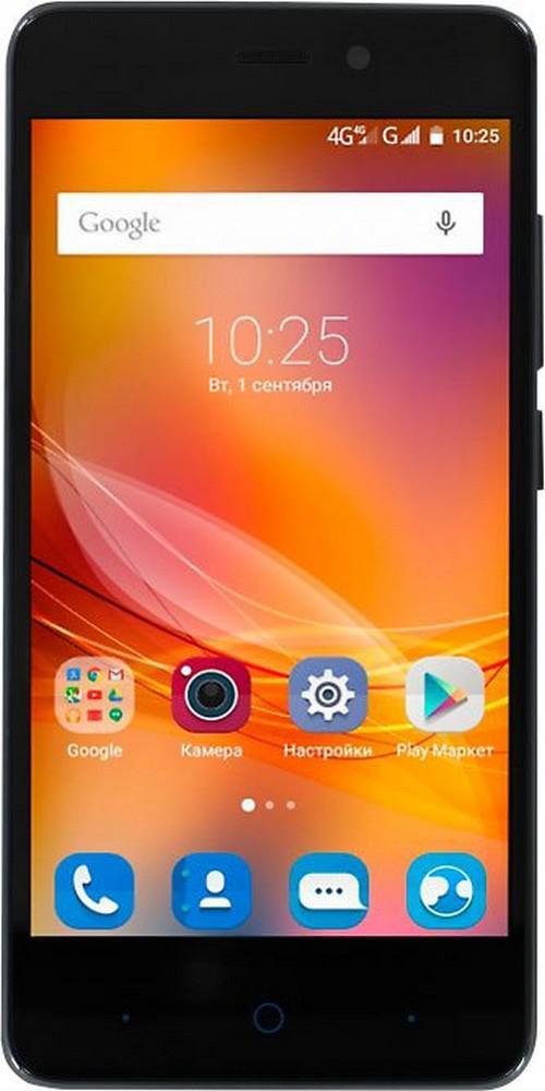 "Смартфон ZTE Blade X3 черный 5"" 8 Гб LTE Wi-Fi GPS"