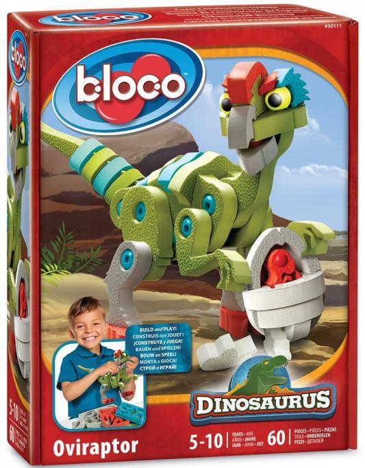 Конструктор Bloco Динозавр Овираптор 60 элементов 30111