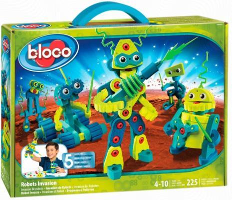 Конструктор Bloco Вторжение Роботов 225 элементов 30442 bloco конструктор динозавры велоцераптор и птерозавр