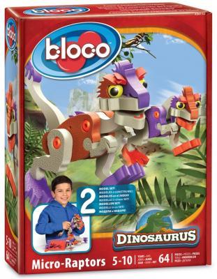 Конструктор Bloco Динозавры: МикроРаптор 64 элемента 30112