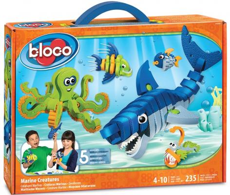Конструктор Bloco Живая Природа: Морские животные 235 элементов 30241