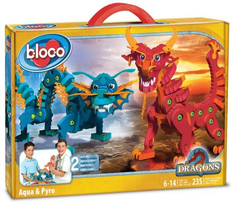 Конструктор Bloco Драконы Воды и Огня 235 элементов 30552