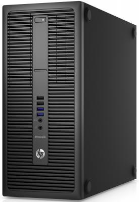 Системный блок HP EliteDesk 800 G2 MT i3-6100 3.7GHz 4Gb 500Gb HDG4400 DVD-RW Win7 Win10 клавиатура мышь черный T4J48EA