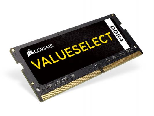 Оперативная память для ноутбука 8Gb (1x8Gb) PC4-17000 2133MHz DDR4 SO-DIMM CL15 Corsair CMSO8GX4M1A2133C15 модуль памяти kingston ddr4 dimm 2133mhz pc4 17000 cl15 8gb kvr21n15s8 8