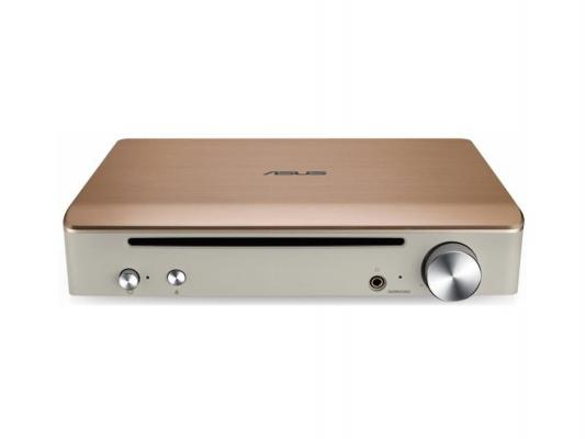 Внешний привод Blu-ray ASUS Asus SBW-S1 PRO/GOLD/G/AS USB 2.0 золотой Retail