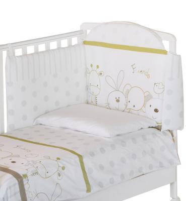 Постельный сет Italbaby Rabbit (зеленый/100,0021-4) постельный сет italbaby teddy крем 100 0019 6