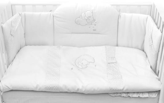 Постельный сет Italbaby Polvere Di Stell (белый/100.0005-5) подвесной светильник italbaby love белый 615 0040 5