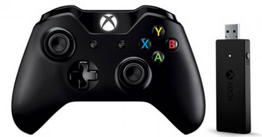 Геймпад Microsoft Xbox One+ NG6-00003 черный