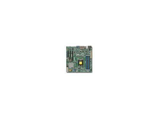 Мат. плата для ПК Supermicro MBD-X11SSH-LN4F-O Socket 1151 C236 4xDDR4 1xPCI-E 4x 2xPCI-E 8x 8xSATAIII mATX