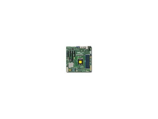 Мат. плата для ПК Supermicro MBD-X11SSM-F-O Socket 1151 C236 4xDDR4 2xPCI-E 4x 2xPCI-E 8x 8xSATAIII mATX