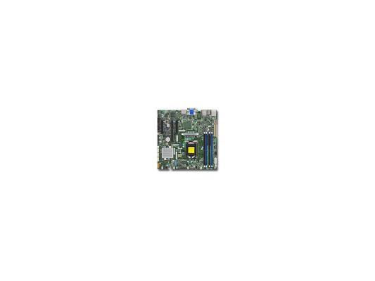 Мат. плата для ПК Supermicro MBD-X11SSZ-F-O Socket 1151 C236 4xDDR4 1xPCI-E 16x 2xPCI-E 4x 4xSATAIII mATX Retail