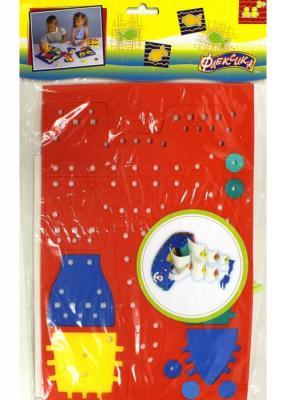 Шнуровка Флексика Парусник 45450 развивающие игрушки флексика шнуровка букетик
