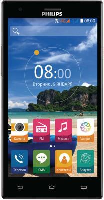 Смартфон Philips S616 16 Гб черный Dark Grey bluetooth гарнитура philips shb5850 черный shb5850bk 51