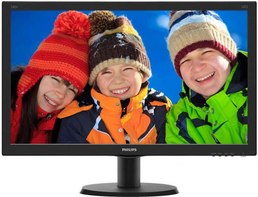 Монитор Philips 240V5QDSB/00/01 монитор philips 223v5lsb 00 01