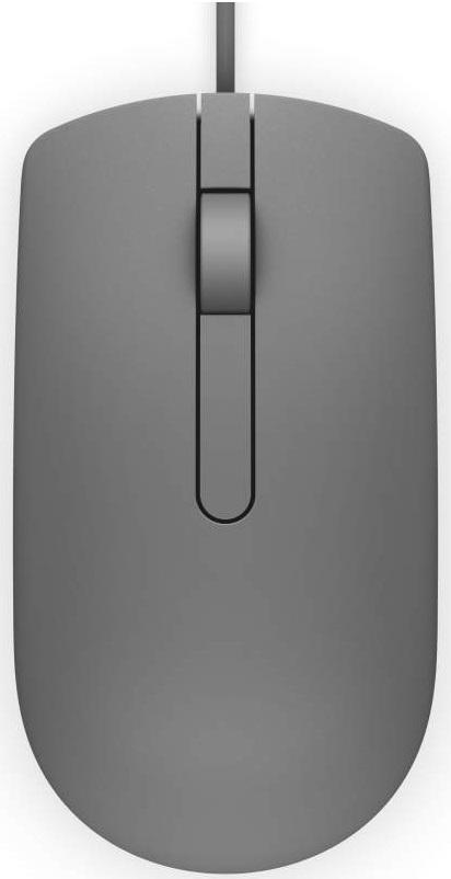 Мышь DELL MS116 серый USB 570-AAIN цена и фото