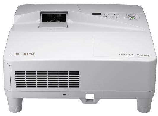 Проектор NEC UM351W LCD 1280x800 3500Lm 4000:1 VGA 2хHDMI USB Ethernet проектор nec ve303 ve303g 800x600 3000lm 10000 1 vga hdmi usb