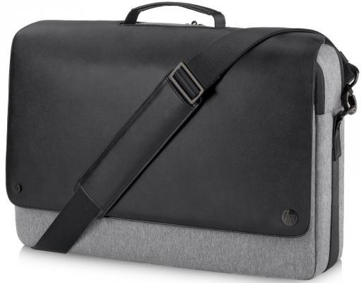 Сумка для ноутбука 15.6 HP Executive Black Messenger синтетика черно-серый P6N21AA