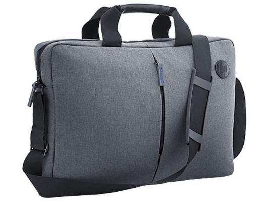 Сумка для ноутбука 17.3 HP Value Topload Case серый T0E18AA