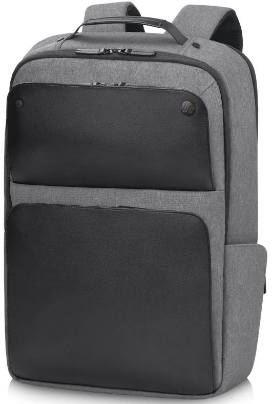 """Рюкзак для ноутбука 17.3"""" HP P6N23AA Executive Black Backpack серый/черный"""