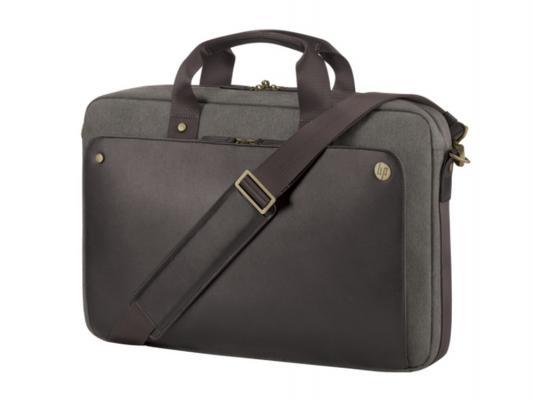 Сумка для ноутбука 15.6 HP Case Executive Brown Top Load коричневый P6N19AA