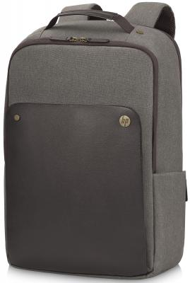"Рюкзак для ноутбука 15.6"" HP P6N22AA Case Executive Brown Backpack коричневый"