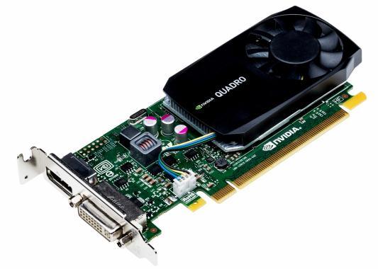 Видеокарта 2048Mb PNY Quadro K420 PCI-E 128bit GDDR3 DVI VGA VCQK420-2GBBLK-1 OEM