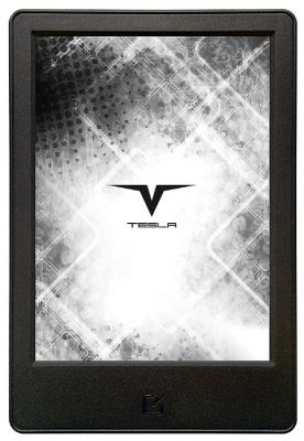 "Электронная книга Tesla Crypto TFL6.0 6""  E-ink Pearl 758x1024 256Mb 8Gb черный GPB07538 электронная книга tesla symbol black"