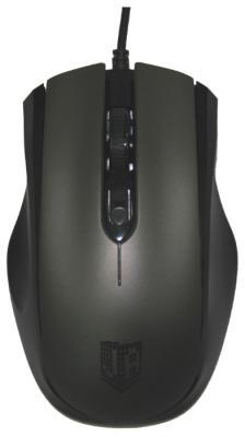 Мышь проводная Jet.A OM-U50 серый USB