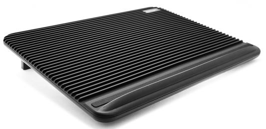 "Подставка для ноутбука 17"" Crown CMLC-1101 380x280x25mm USB черный"