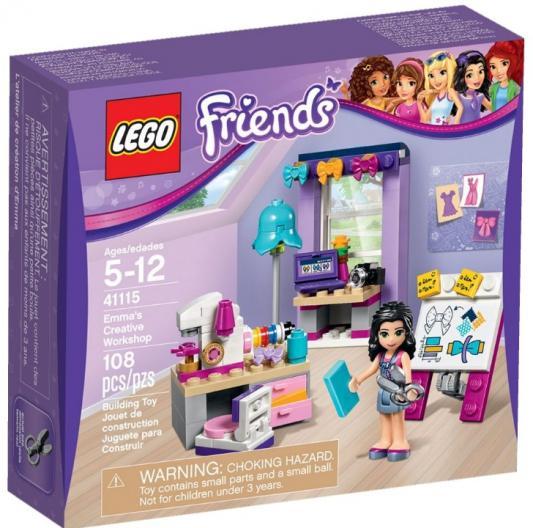 Конструктор Lego Friends Творческая мастерская Эммы 108 элементов 41115